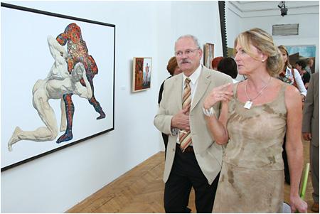 Slávnostné otvorenie bienále voľného výtvarného umenia