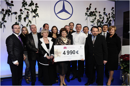 5th charity auction in Bansk� Bystrica