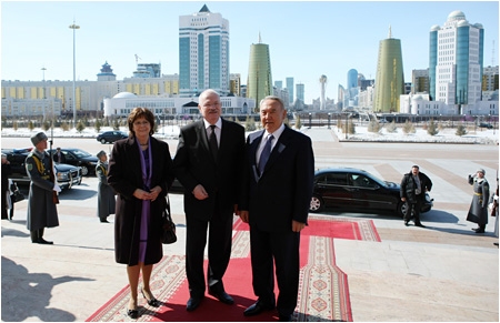 Official visit to Kazakhstan