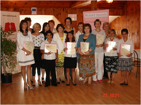 First Lady met graduates of the Motivational Education Program for women threatened by domestic violence and socially disadvantaged women