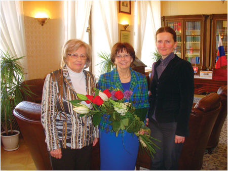Meeting with Slovak Red Cross representatives