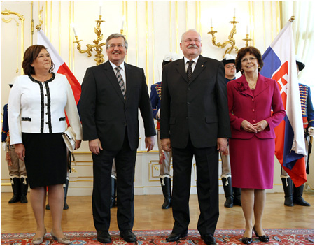 First Ladies of Slovakia and Poland visited the Slovak National Gallery
