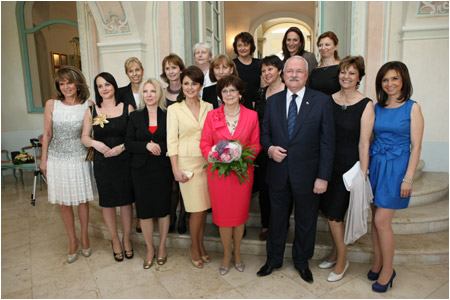 Opening of the photo exhibition Slovak Woman of the Year 2012