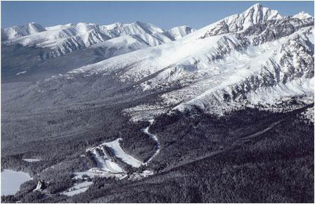 The High Tatra Mts.
