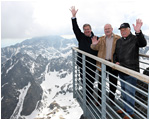 V 4 Presidents Meet for Presidential Summit in the High Tatras