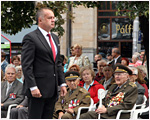 Prezident Kiska položil veniec k Pamätníku SNP v Bratislave
