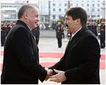 Kiska privítal maďarského prezidenta Ádera na oficiálnej návšteve Slovenska