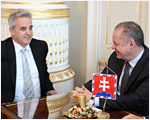 Prezident SR prijal predsedu Ústredného zväzu židovských náboženských obcí