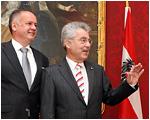 Andrej Kiska sa vo Viedni stretol sa rakúskym prezidentom