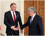 Andrej Kiska rokoval v Berlíne s nemeckým prezidentom