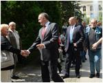 Andrej Kiska navštívil Banskú Bystricu a Košice