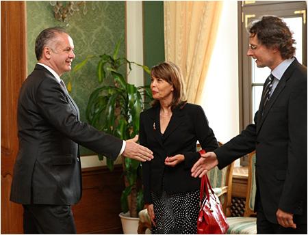 Prezident Andrej Kiska prijal prijal zástupcov sudcov
