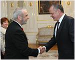 Andrej Kiska prijal zástupcov Slovenského Červeného kríža