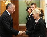 Prezident Kiska sa stretol s Bielymi vranami