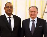 Prezident SR prijal seychelského predsedu parlamentu