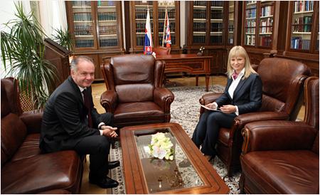 Andrej Kiska prijal ministerku zdravotníctva SR
