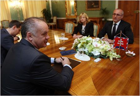 Andrej Kiska rokoval s predstaviteľmi slovenskej justície