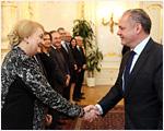 Prezident Andrej Kiska prijal slovenských europoslancov