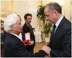 Prezident ocenil osobnosti odporu proti okupácii Československa