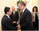 Andrej Kiska prijal generálneho tajomníka Svetovej organizácie cestovného ruchu