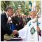 Prezident Kiska bol na bohoslužbe v Šaštíne