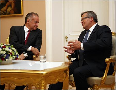 Prezident Andrej Kiska vo Varšave