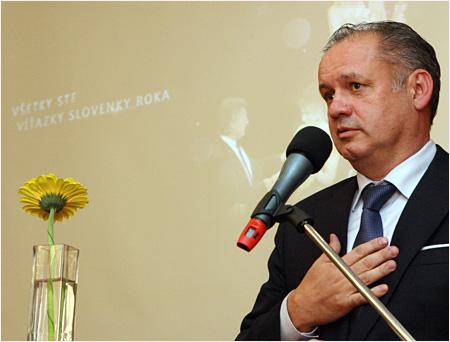Prezident vo VIP klube Slovenka