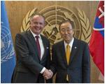 Bilaterálne stretnutia prezidenta Andreja Kisku na pôde OSN
