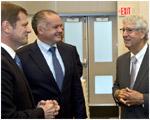 Prezident navštívil Boston, technologické centrum východného pobrežia