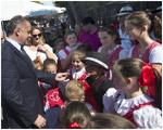 Prezident si uctil pamiatku obetí 11. septembra a stretol sa s krajanmi