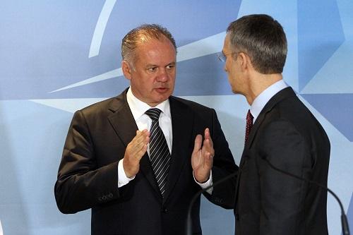 Kiska has held a meeting with The Secretary General of NATO