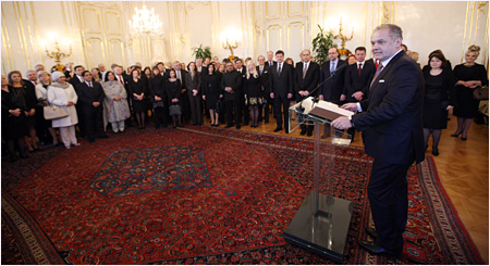 Address by The President of the Slovak Republic on the occasion of the New Year's meeting with members of diplomatic corps accredited in the Slovak Republic